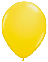 Yellow balloons png. Single just for kids
