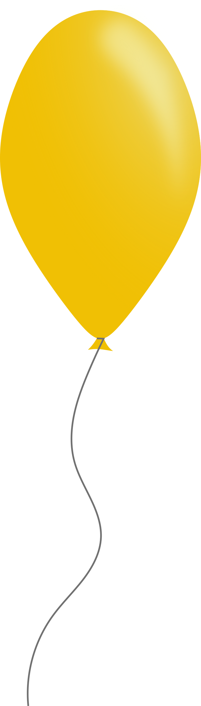 Yellow balloons png. Free balloon cliparts download