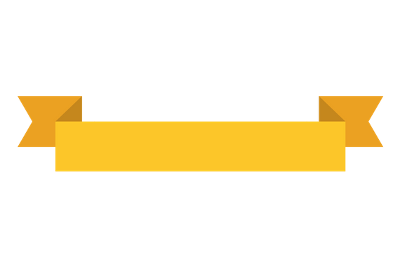 Yellow banner png. Tag banners