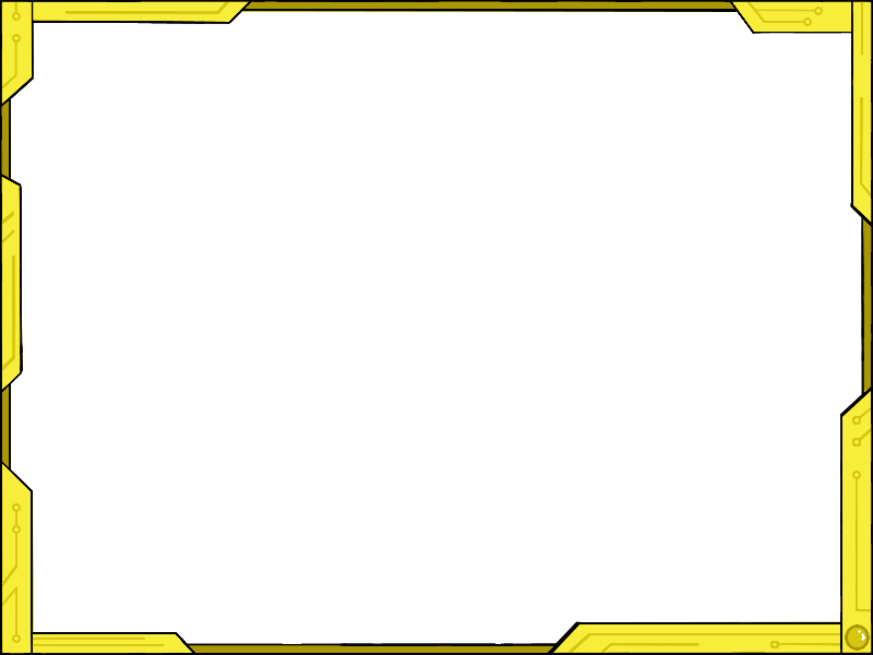 Yellow border png. Frame picture mart