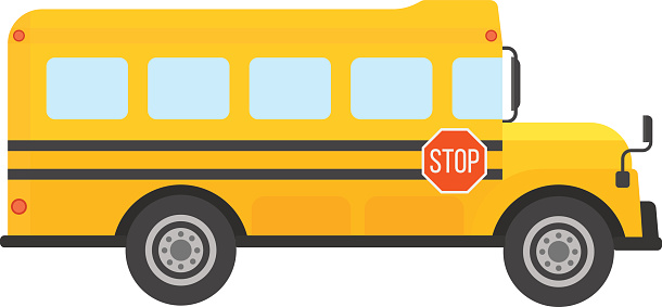Yellow bus. Clipart free download best