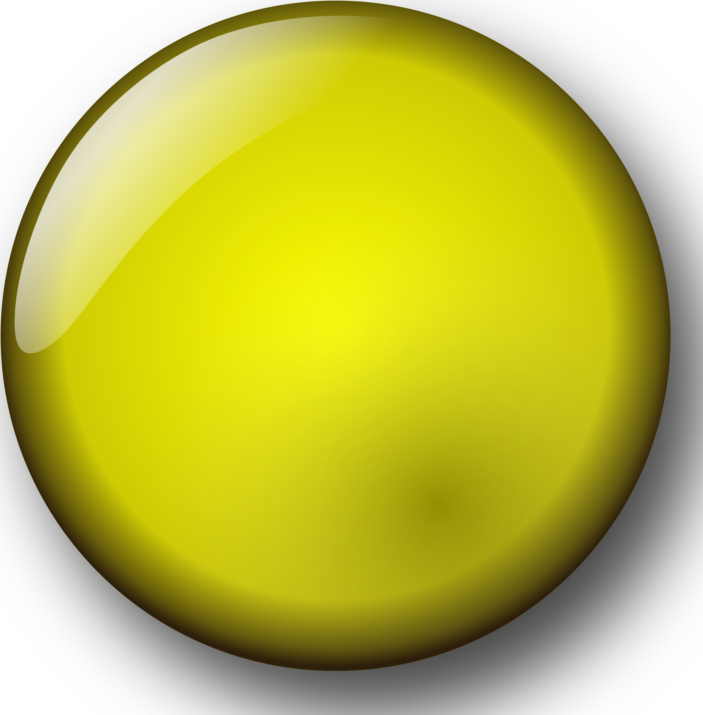 Yellow buttons png. Clipart button big image