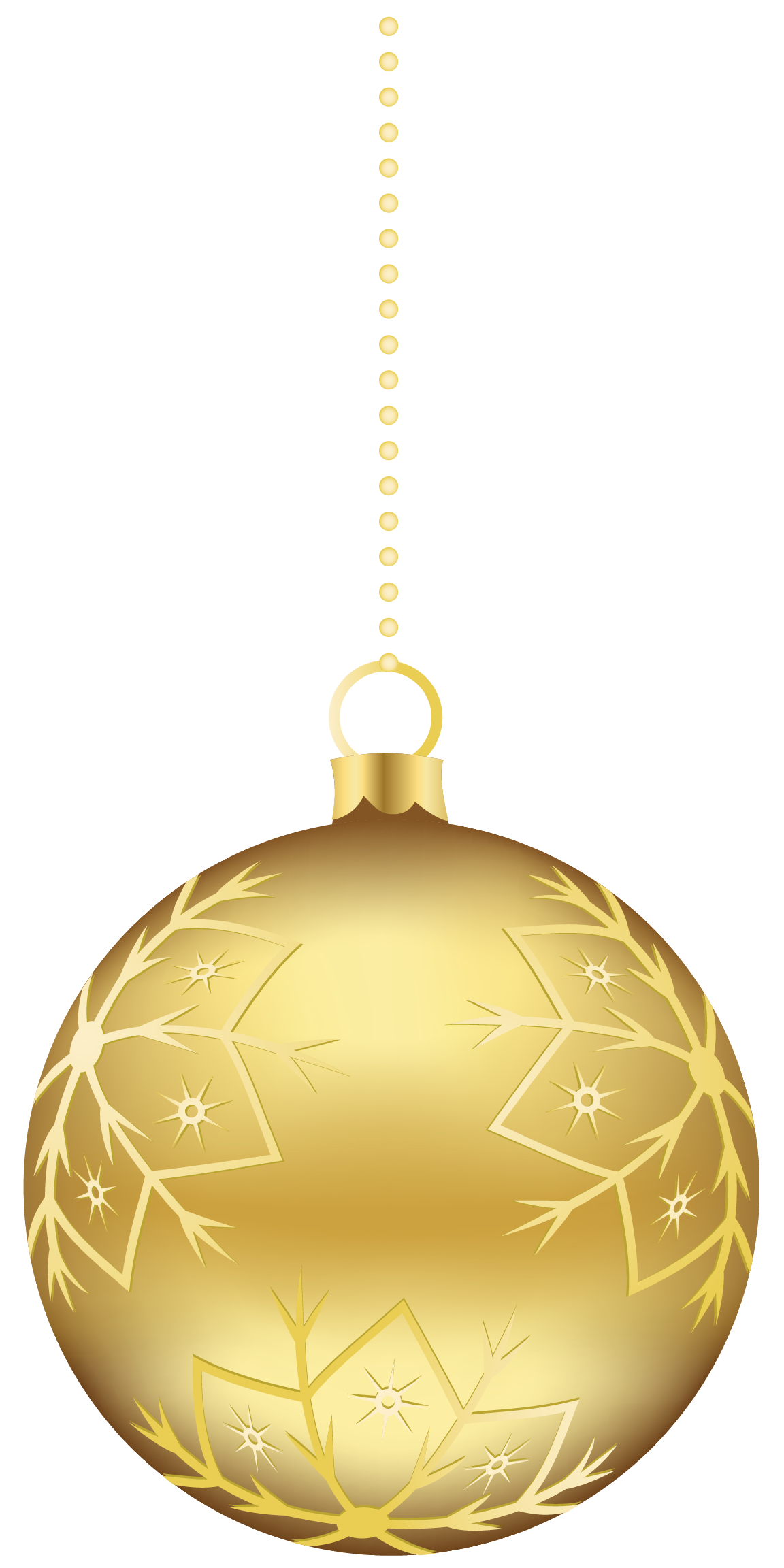 Yellow christmas ornaments png. Gold clipart free icons