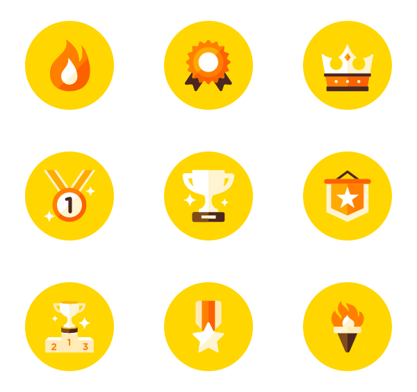 Yellow circle png. Essential icon family vector