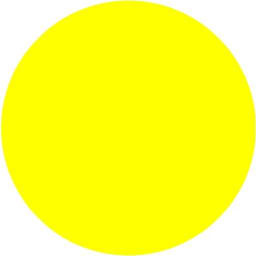 Yellow circle png. Icon free shape icons