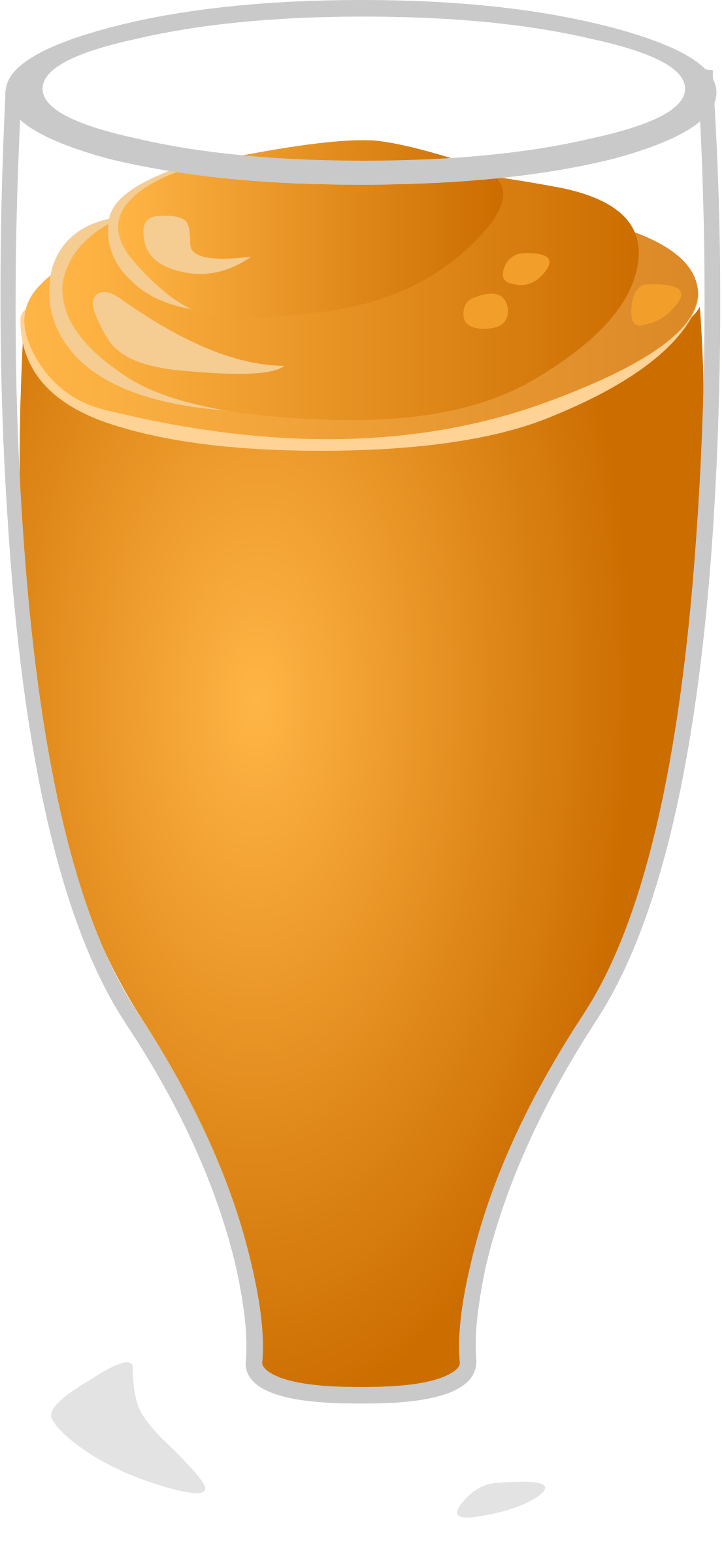 Smoothie vector clipart. Free orange cliparts download