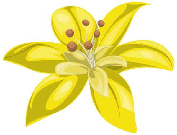 Yellow flower png. Image gallery yopriceville high