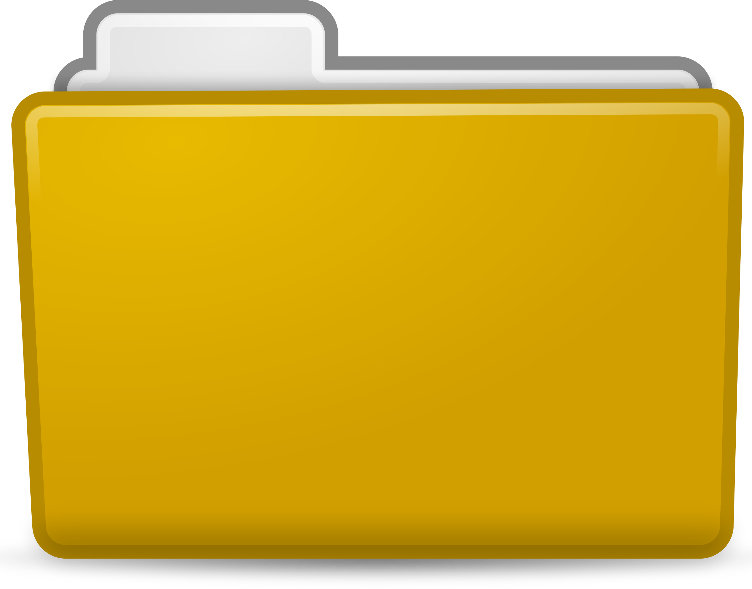 Yellow folder png. Icon icons free and