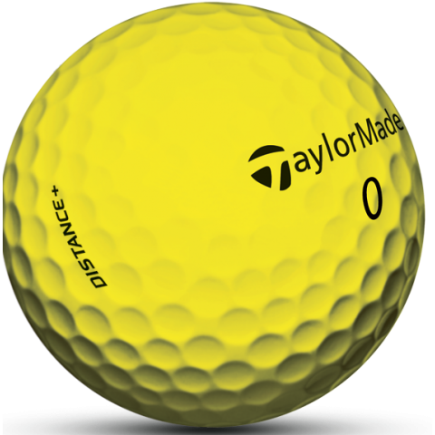 Yellow golf ball png. Taylormade distance plus balls