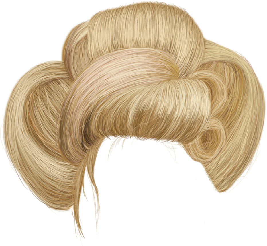 Yellow wig png. Hair transparent pictures free