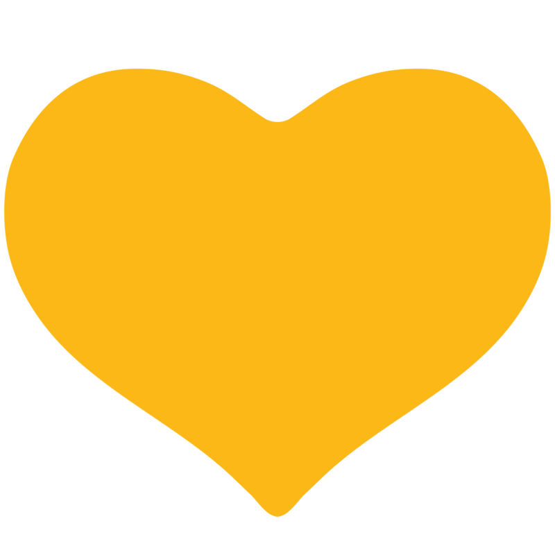 Yellow heart png. Download free clipart dlpng