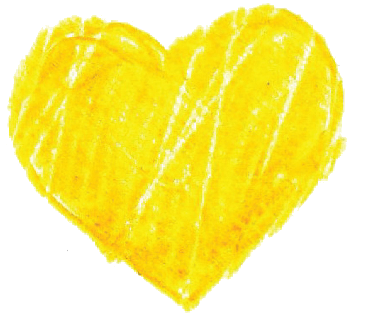 Yellow heart png. Pic mart