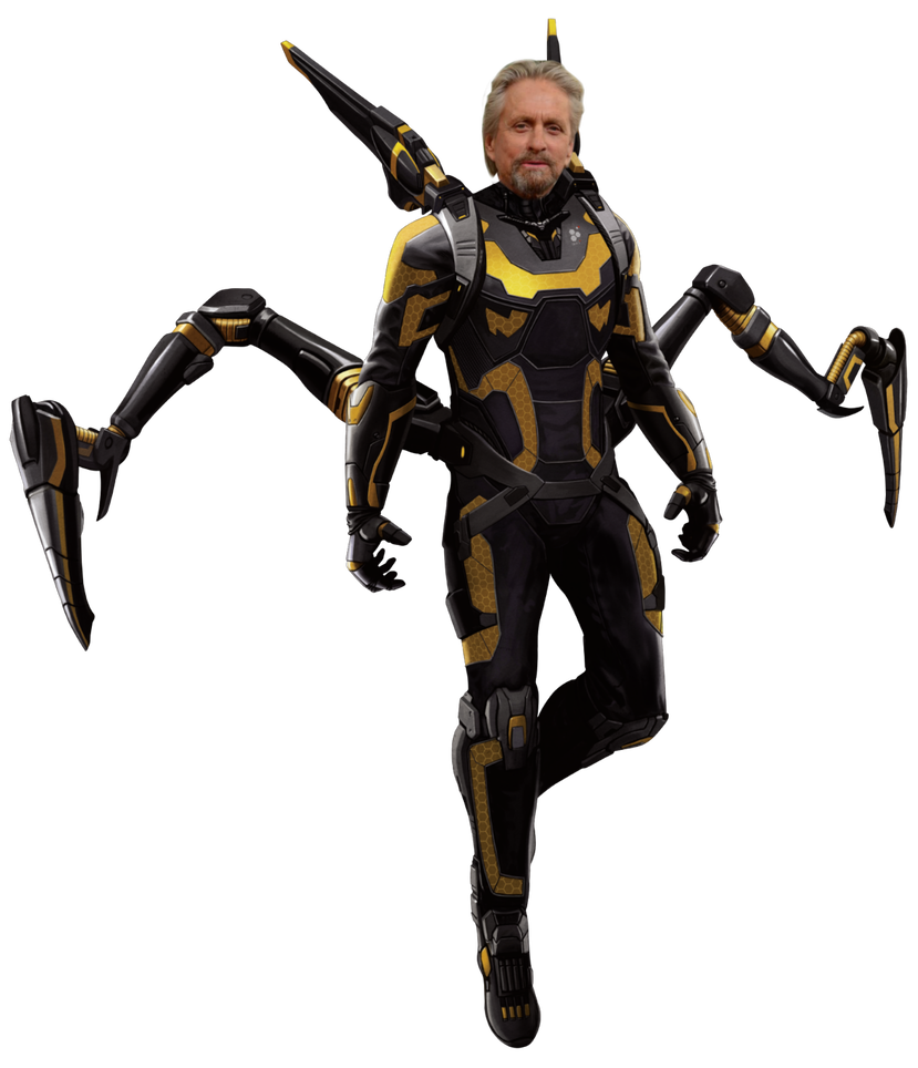Yellow jacket ant man png. Yellowjacket hank pym by