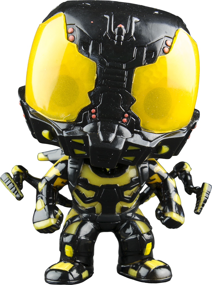 Yellow jacket ant man png. Yellowjacket pop vinyl funko