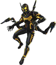 Yellow jacket ant man png. Yellowjacket dialogues marvel avengers