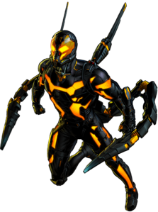 Yellow jacket ant man png. Yellowjacket marvel cinematic universe