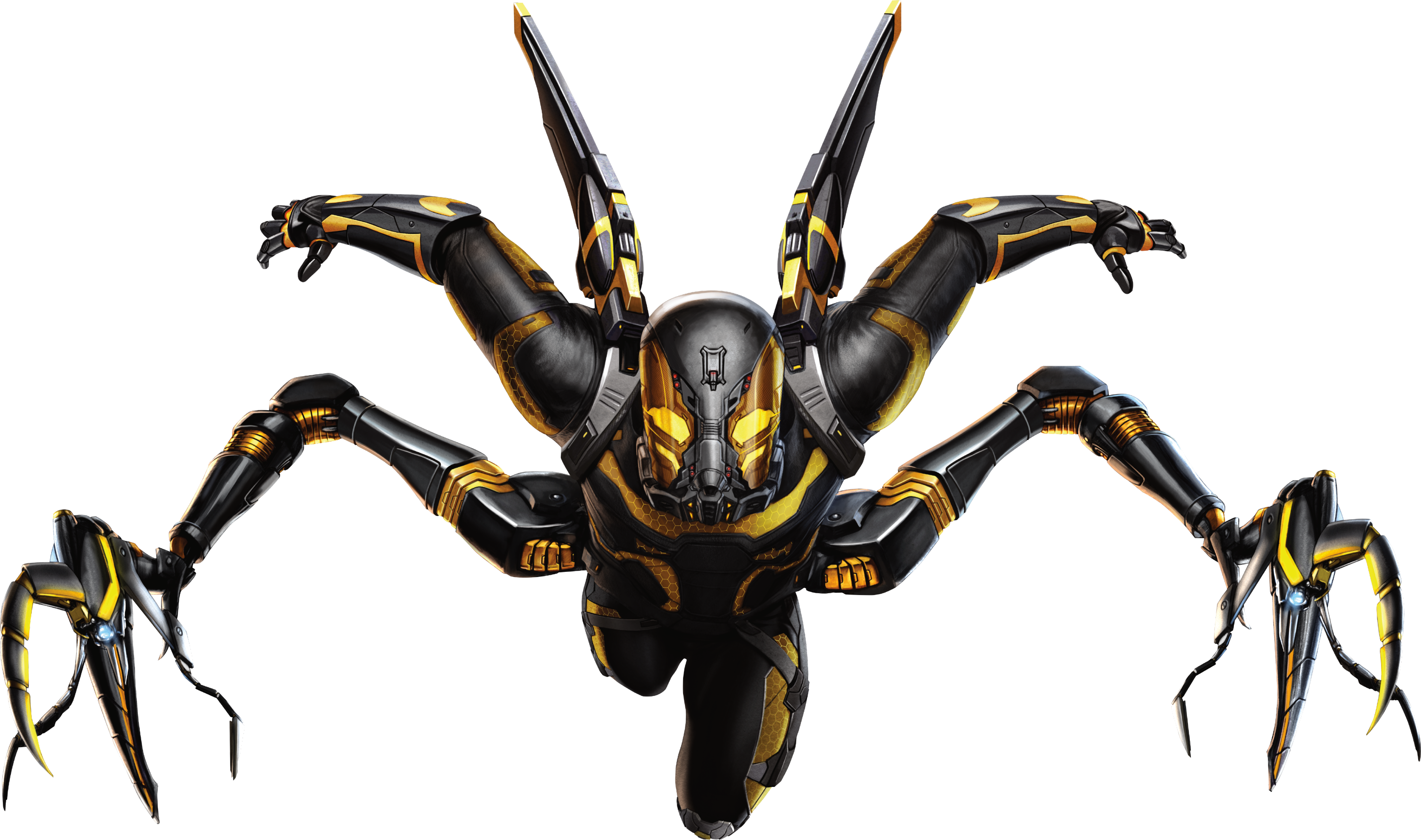 Yellow jacket ant man png. Image yellowjacket marvel cinematic