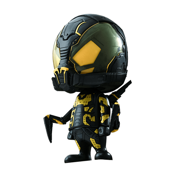 Yellow jacket ant man png. Marvel yellowjacket cosbaby vinyl