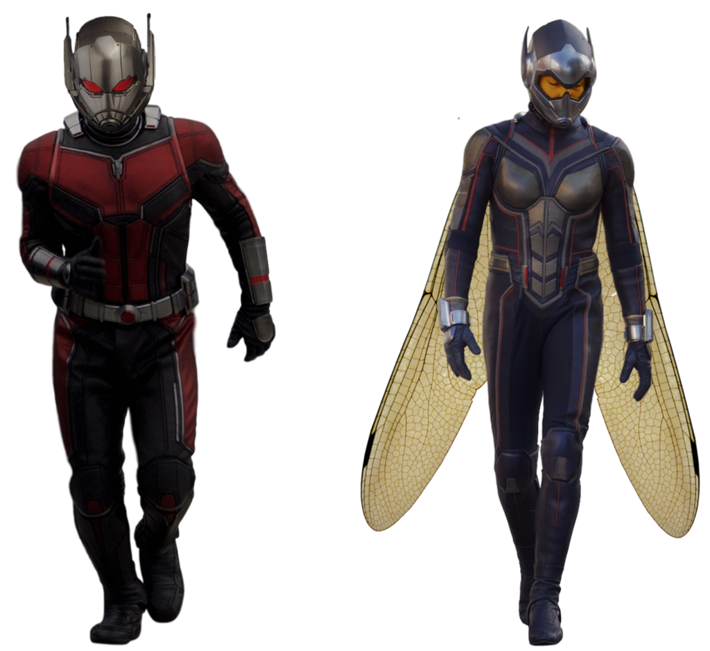 Yellow jacket ant man png. And the wasp transparent