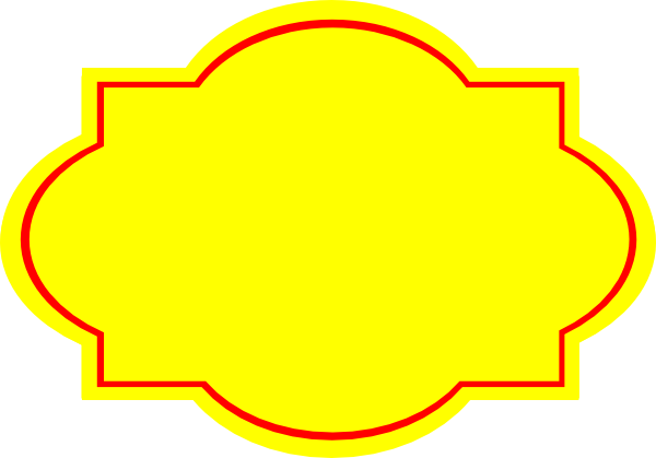 Yellow label png. Clip art at clker