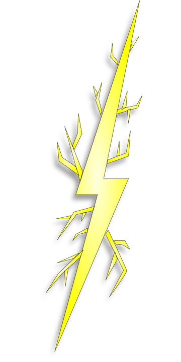 Lightning bolt png horizontal. Yellow images in collection