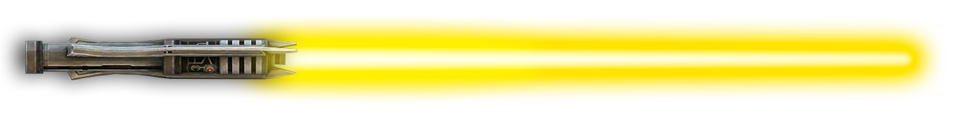 Yellow lightsaber png. Image ls star wars