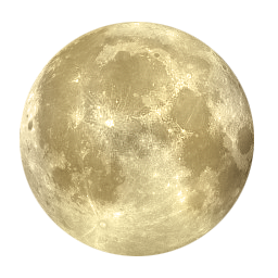 Yellow moon png. Images free download