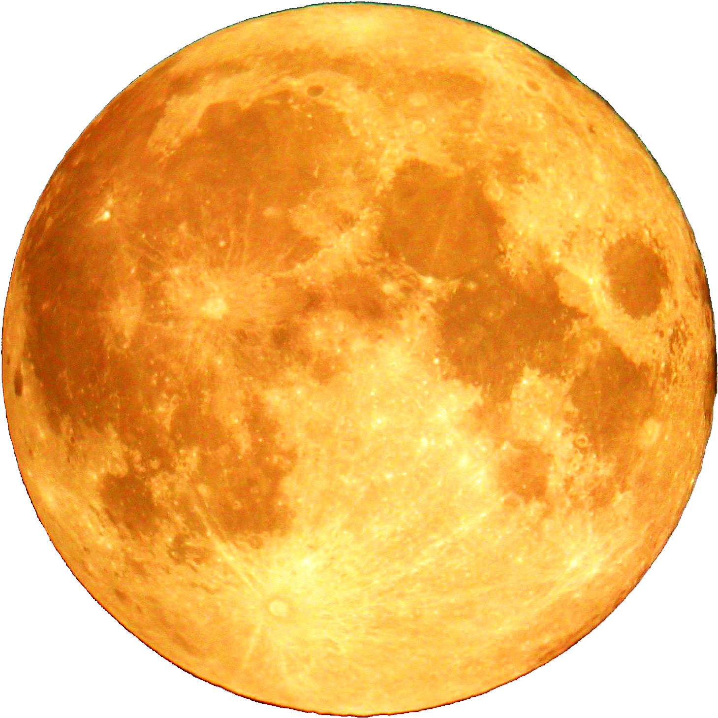 Yellow moon png. Download banner free library