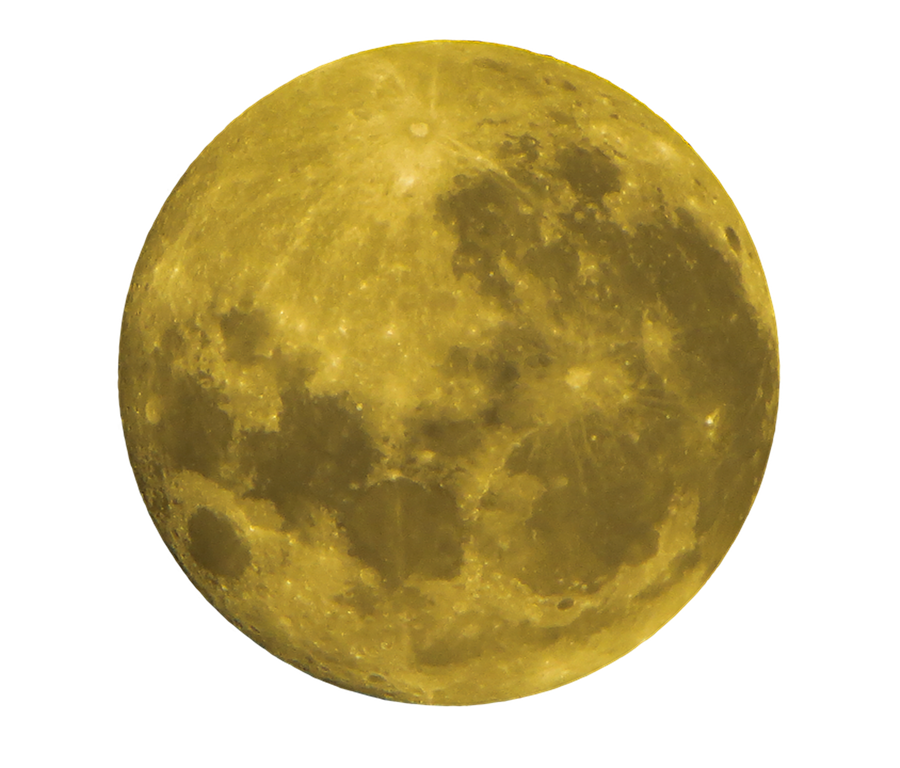 Yellow moon png. Download