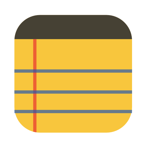 Yellow notepad png. Squareplex by cornmanthe rd