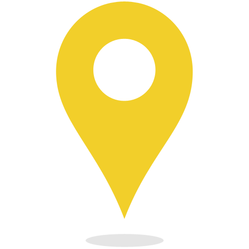 Yellow pin png. Map marker icon myiconfinder