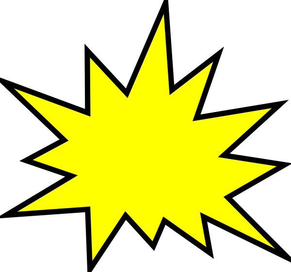 Yellow pow sign png. Clipart gallery images clip