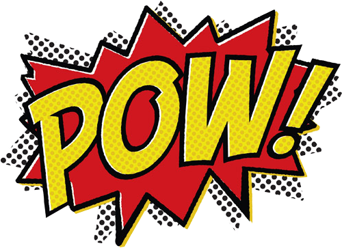 pow! png graphic novel