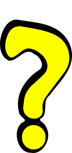 Yellow question mark png. Clip art at clker