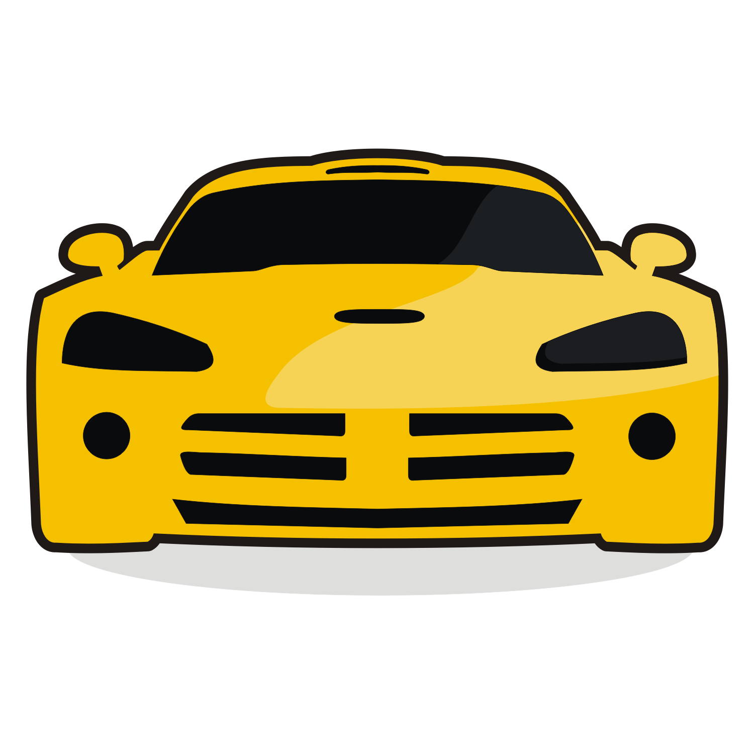 Yellow race car. Clipart free download best