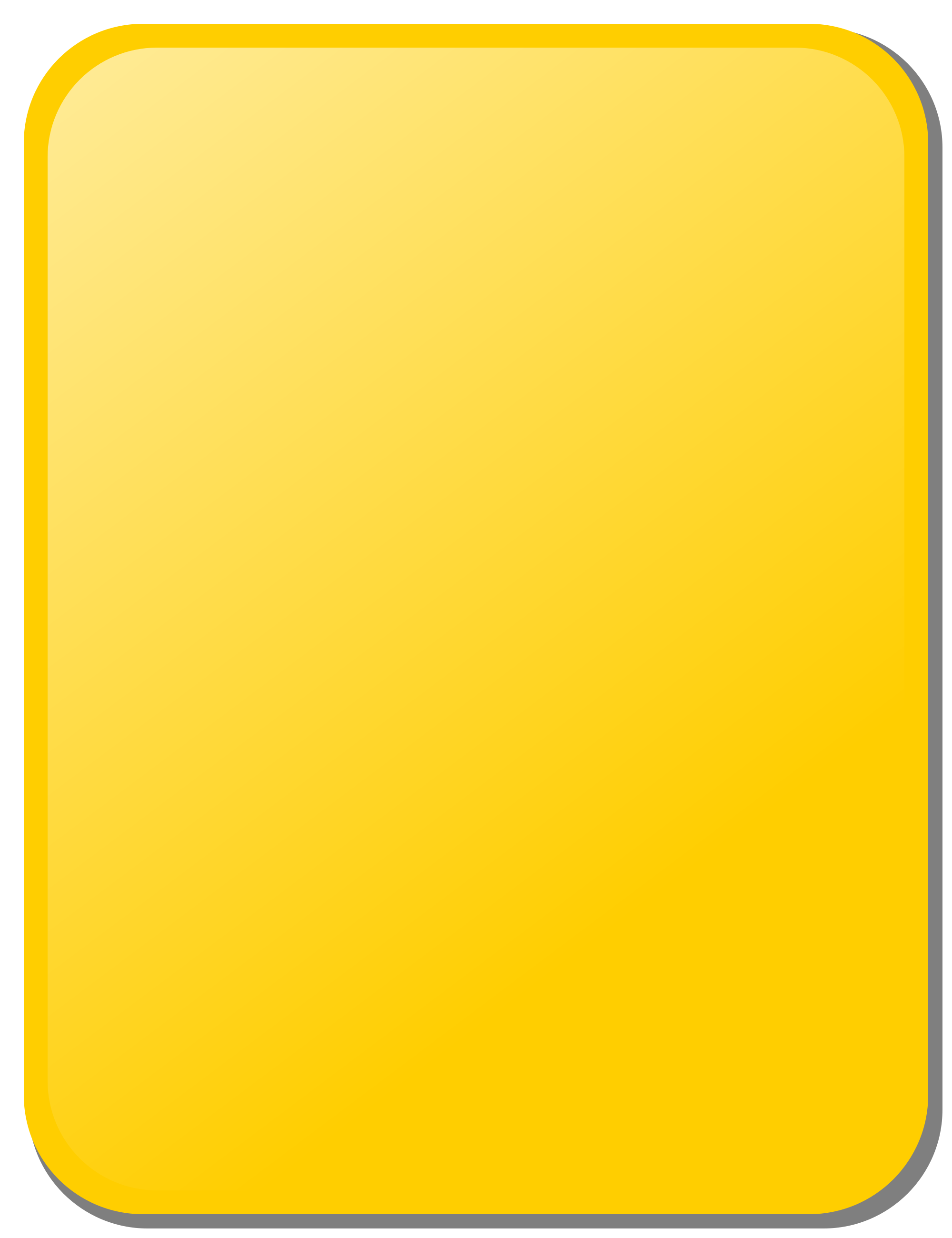 Yellow rectangle png. File card svg wikimedia