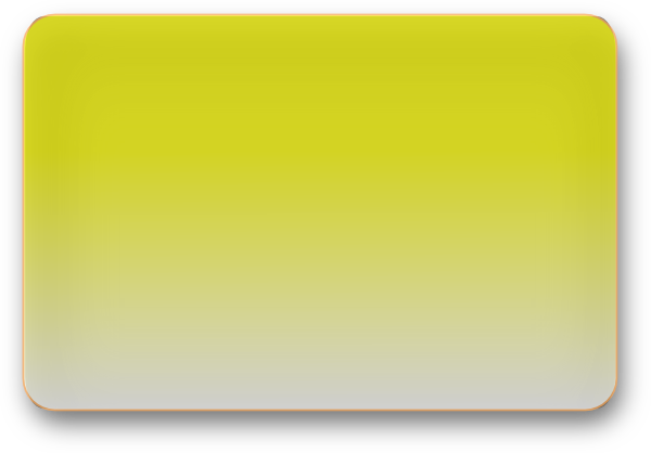 Yellow rectangle png. Glossy button clip art