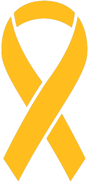 Yellow ribbon png. Sticker icon vector data