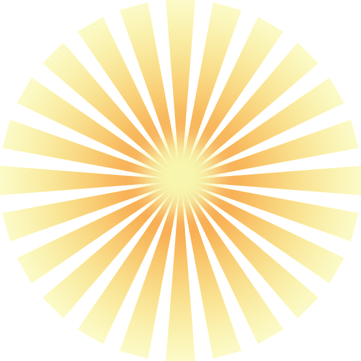 Yellow shine png. Transparent images all pic