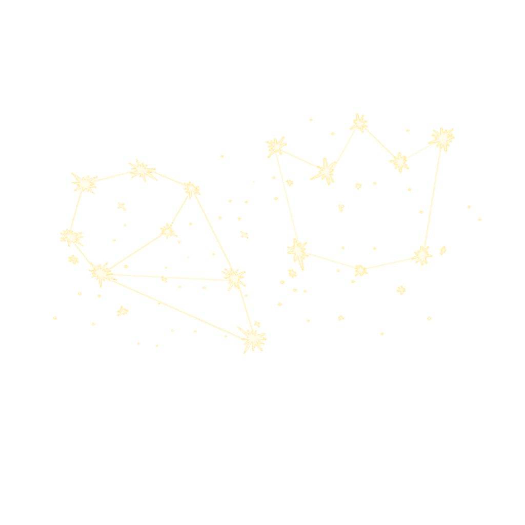 Yellow sparkle png. Constellations stars sparkles cute