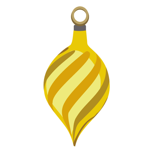 Yellow stripes png. Christmas ball transparent svg