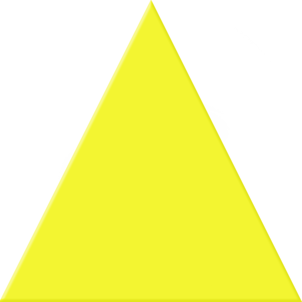 Yellow triangle png. Free images at clker