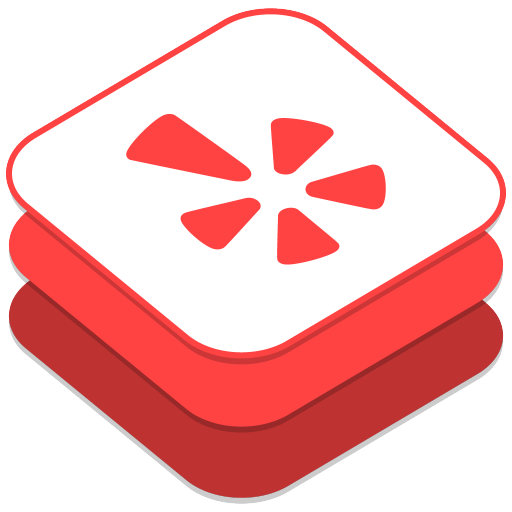 Yelp app logo png. Icon ios style social