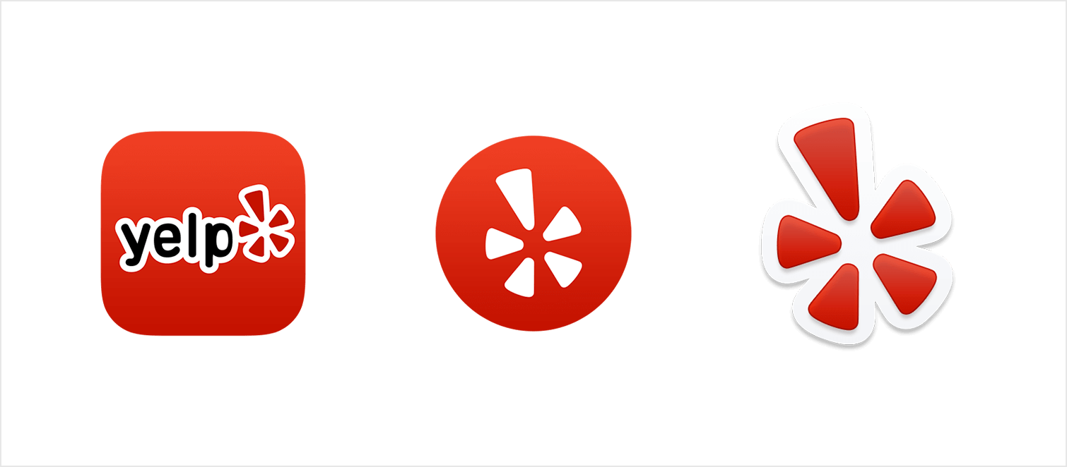 Yelp button png. Styleguide launch icons