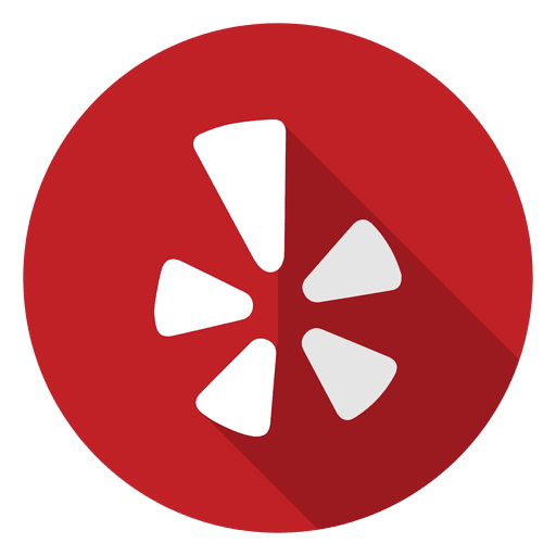 Yelp logo png transparent background. Icon svg vector