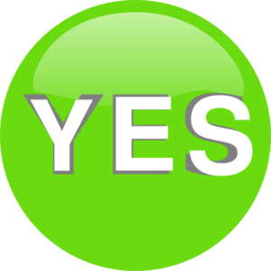 yes no button png