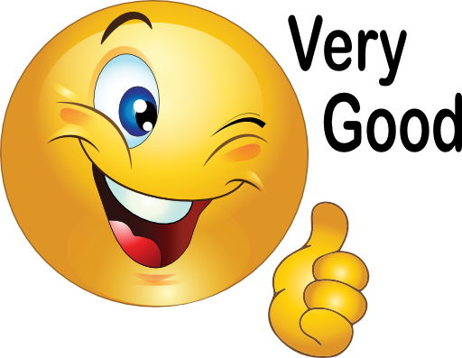Yes clipart proud face. Smiley clip art thumbs