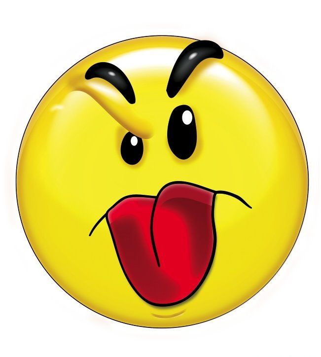 best smileys images. Yes clipart proud face clip black and white