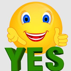 Yes clipart proud face. Best emojis images