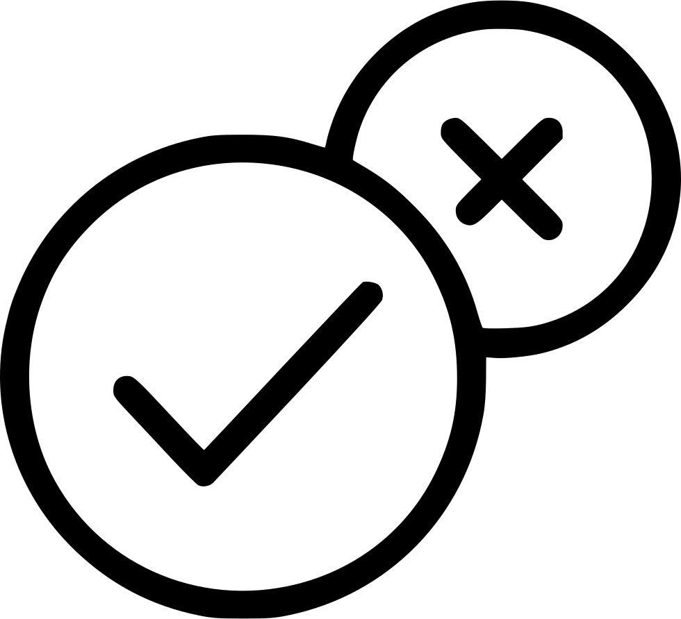 Yes no icon png. Check ok svg free